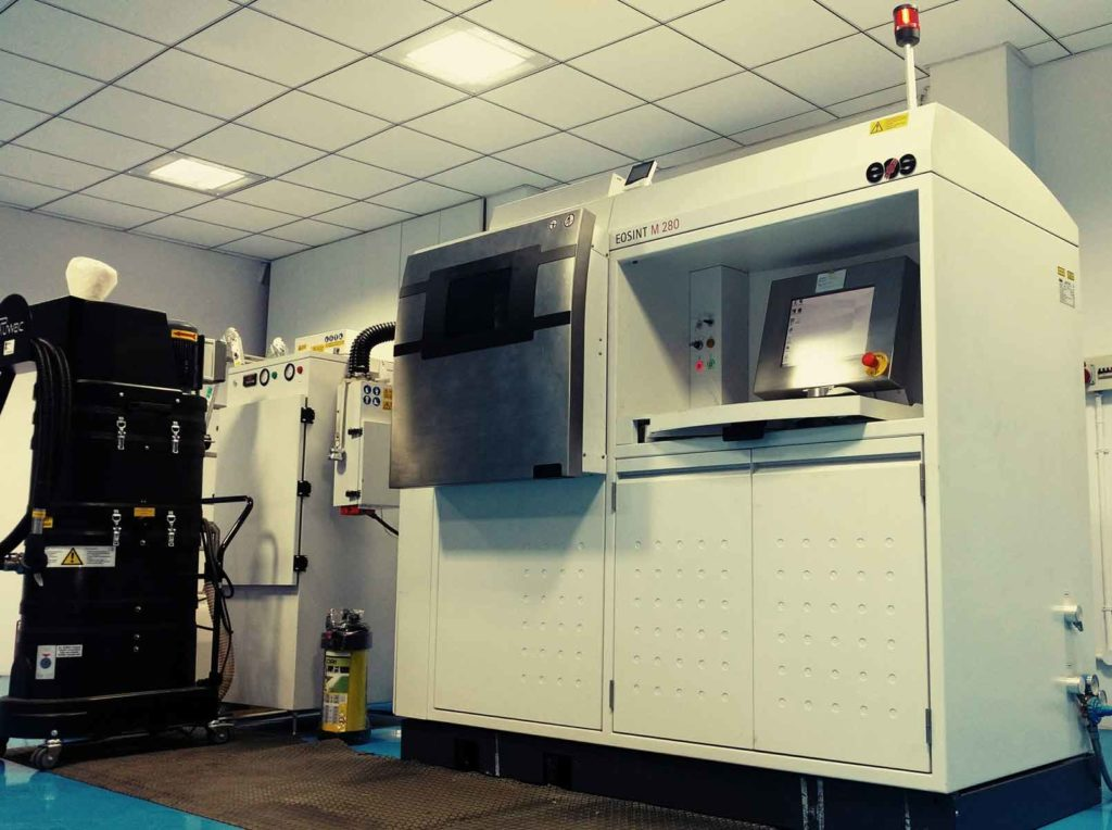 Metal 3D Printing Equipment at Rapid DMLS