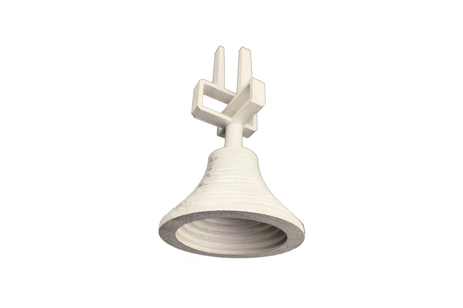 Waveguide-with-Horn-in-Aluminium-AlSi10Mg