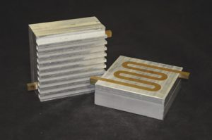 Parts manufactured through Ultrasonic Additive Manufacturing